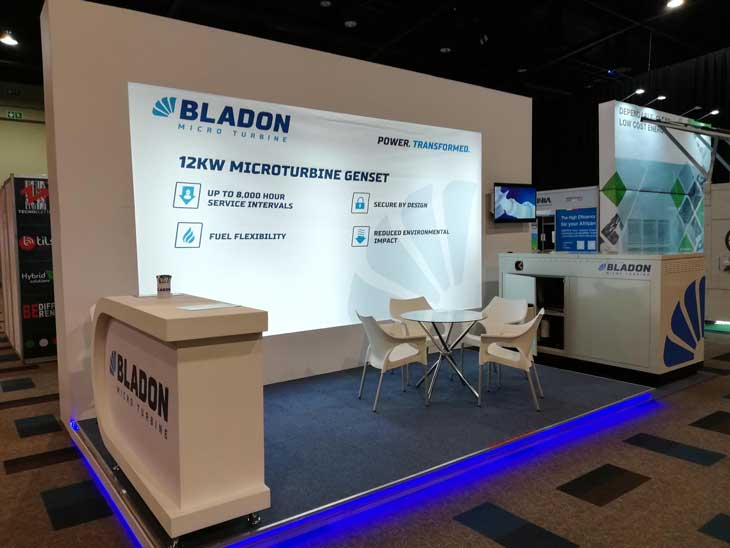 bladon exhibition stand