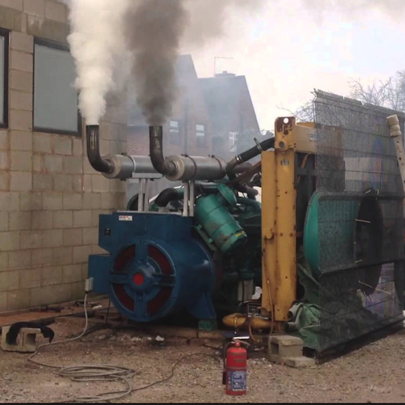 We're reinventing the diesel genset